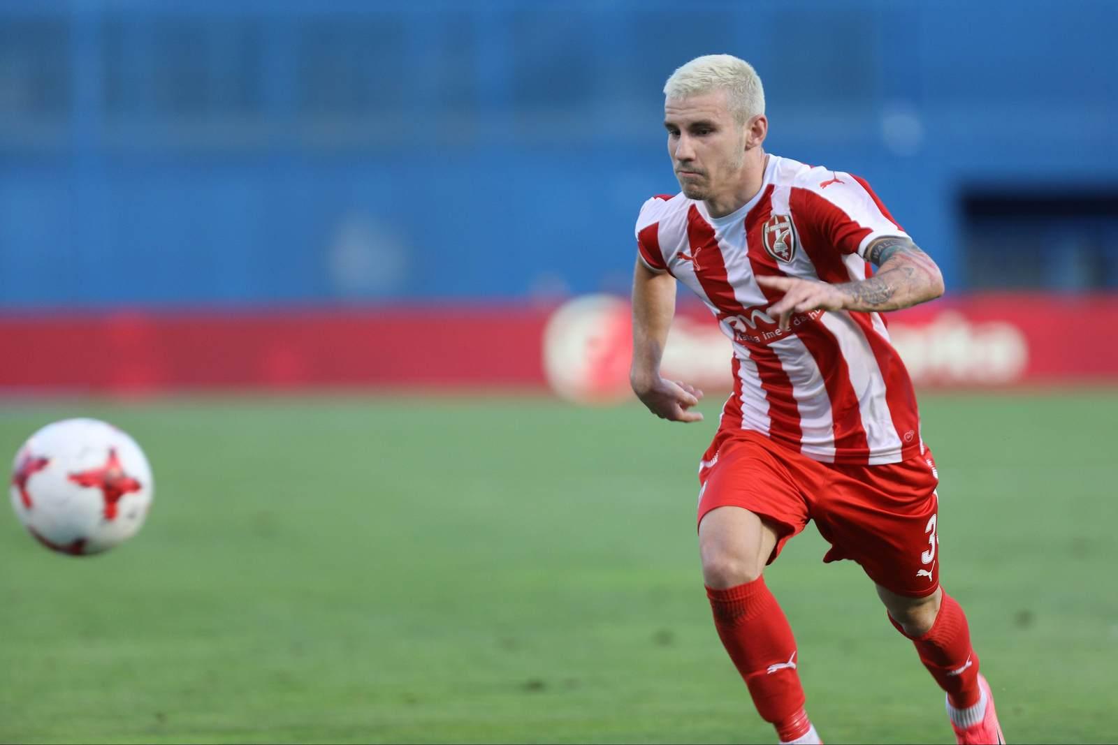 Gledi Mici am Ball für Skenderbeu. Jetzt auf die Partie Dynamo Kiew gegen Skenderbeu Korce wetten
