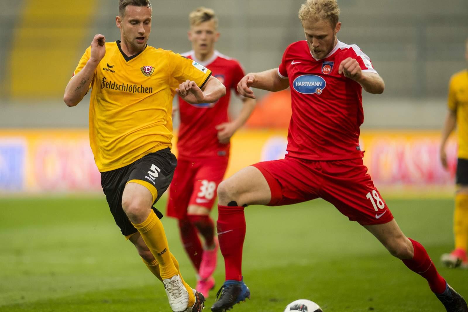 Zweikampf zwischen Konrad und Griesbeck