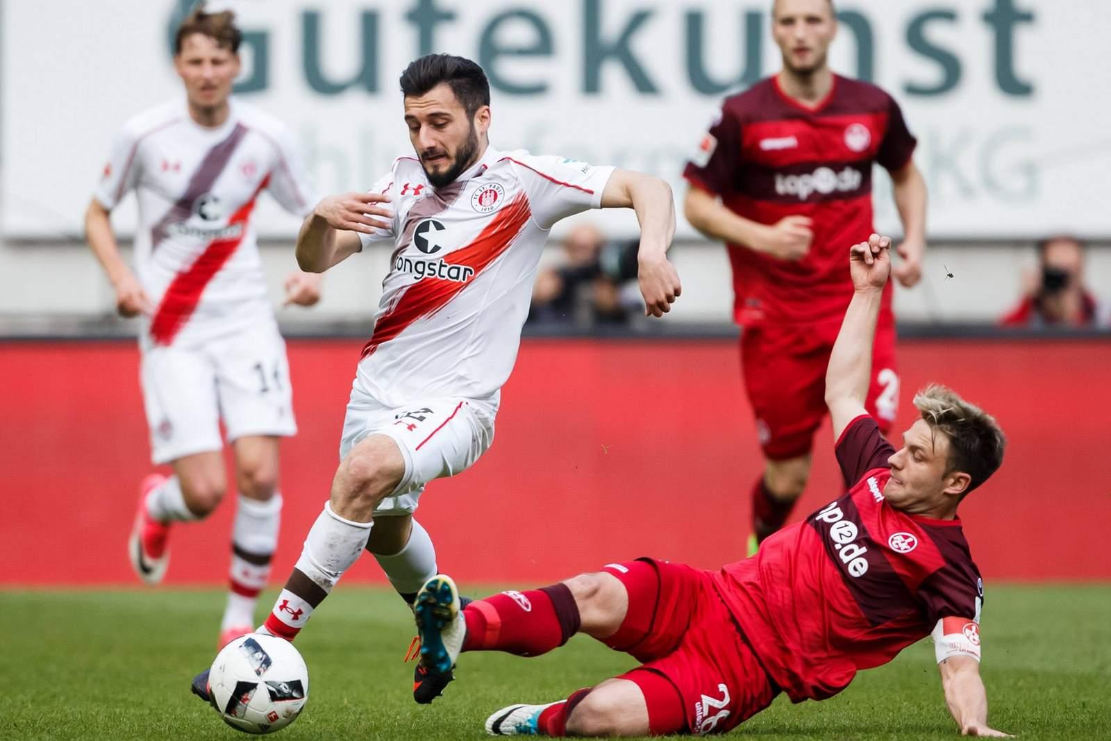 Setzt sich Sahin gegen Halfar durch? Jetzt auf St. Pauli vs FCK wetten