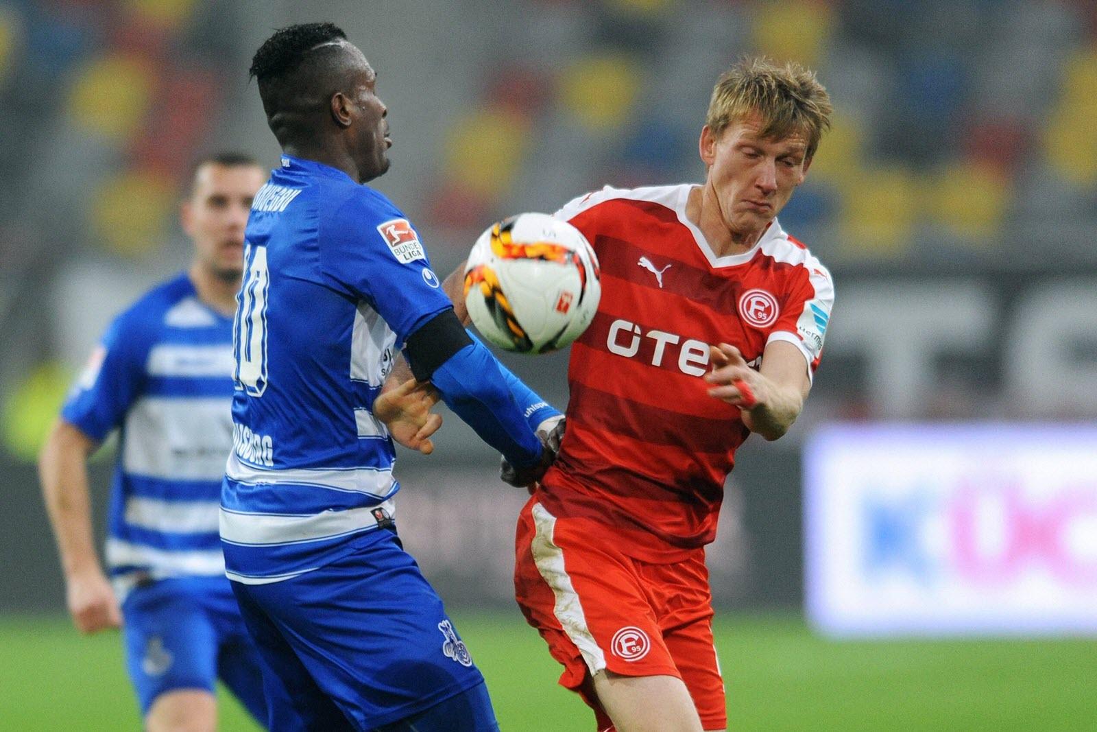 Onuegabu (Duisburg) gegen Bellinghausen (Düsseldorf). Wer gewinnt? Jetzt auf MSV gegen Fortuna wetten!