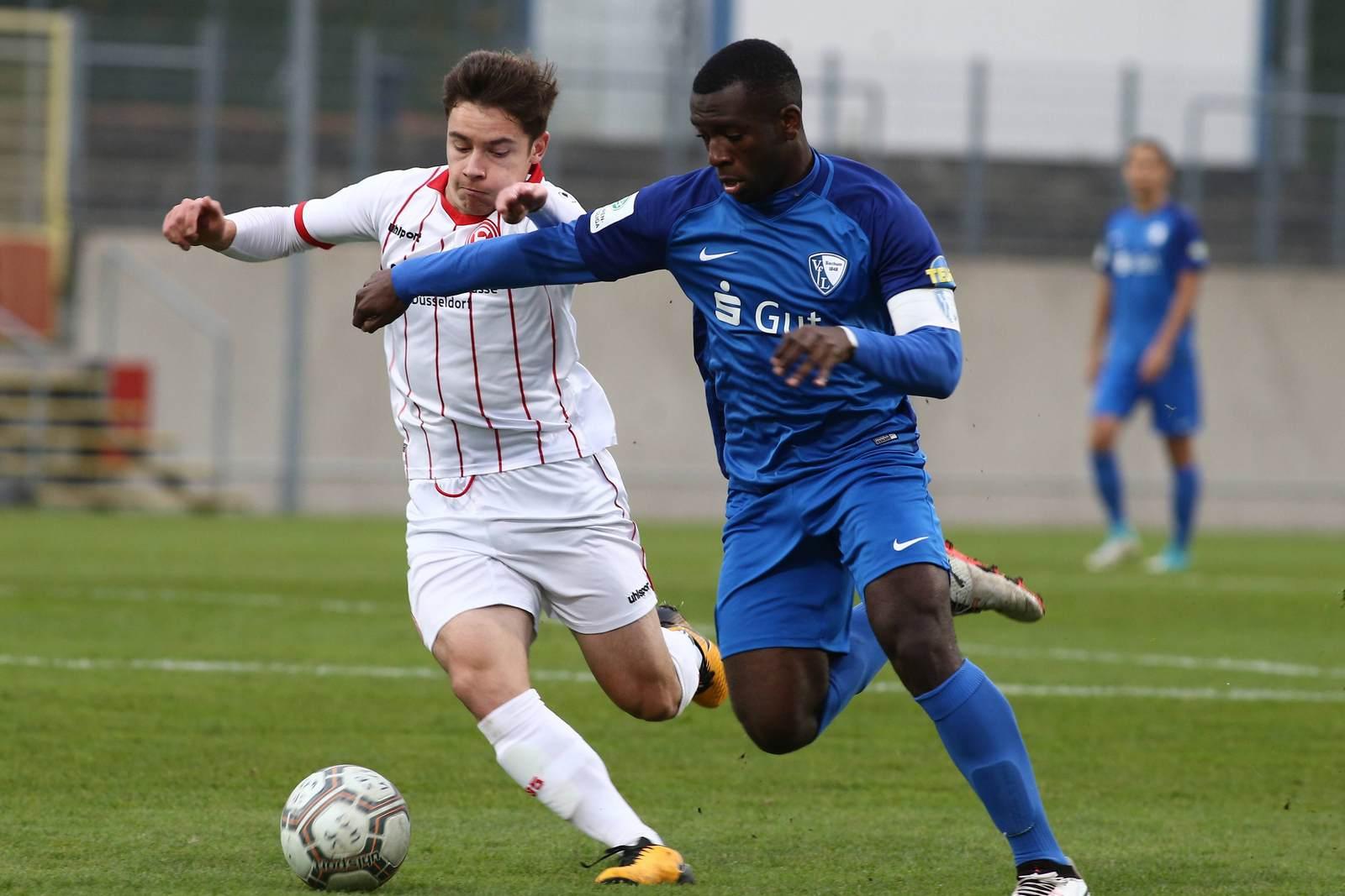 Ulrich Bapoh vom VfL Bochum im Spiel gegen Fortuna Düsseldorf