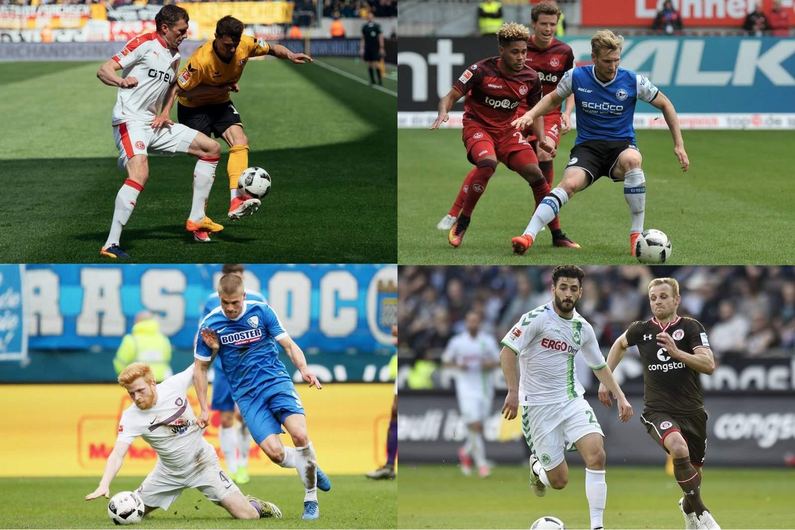 Collage Liga-Zwei.de