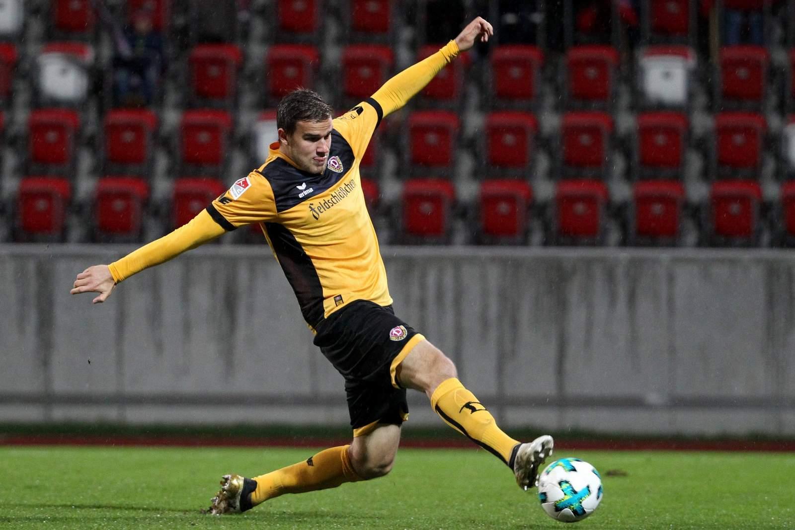 Eero Markkanen im Testspiel gegen Rot Weiß Erfurt