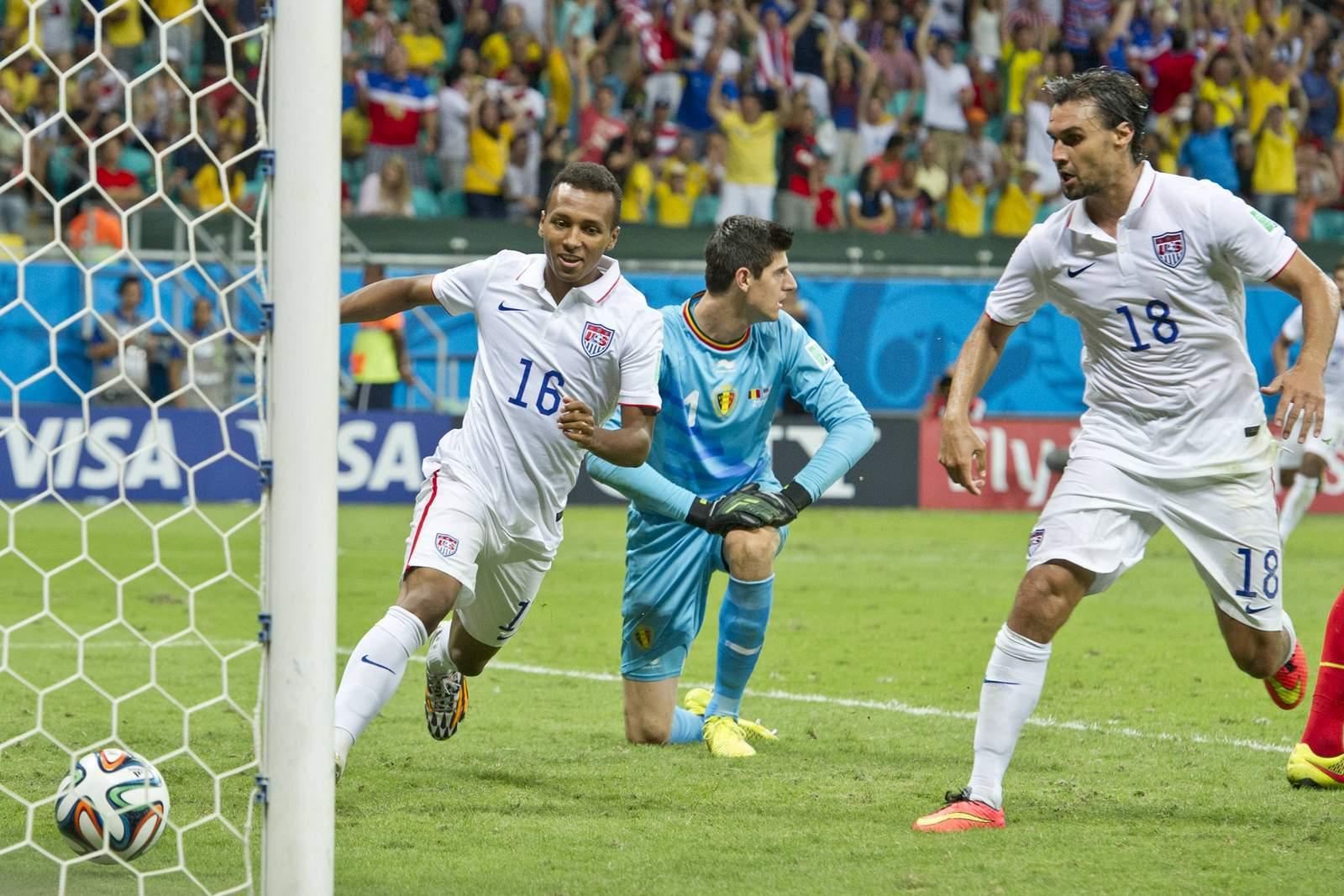 Julian Green erzielt bei WM 2014 ein Tor für die USA