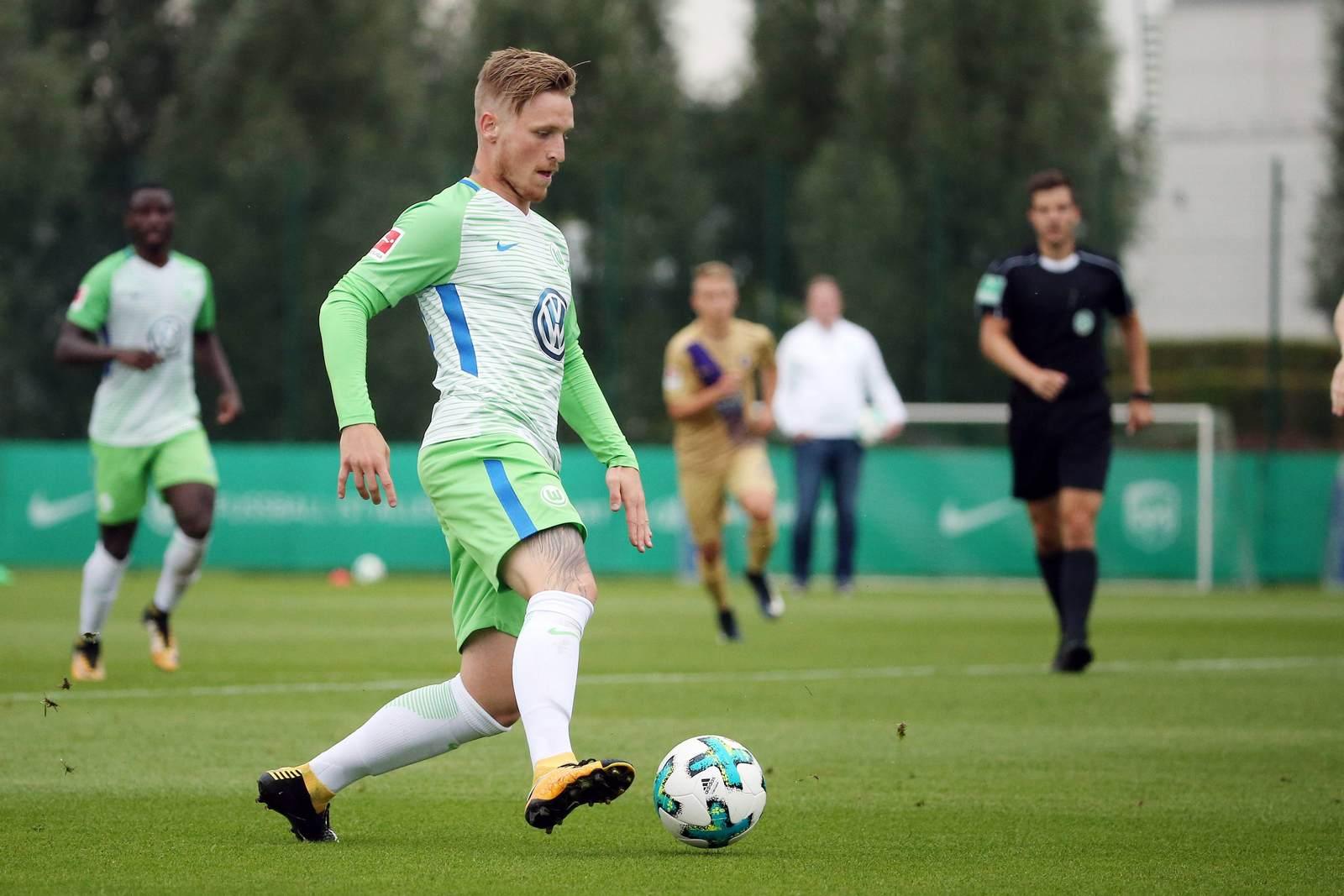 Marvin Stefaniak vom VfL Wolfsburg