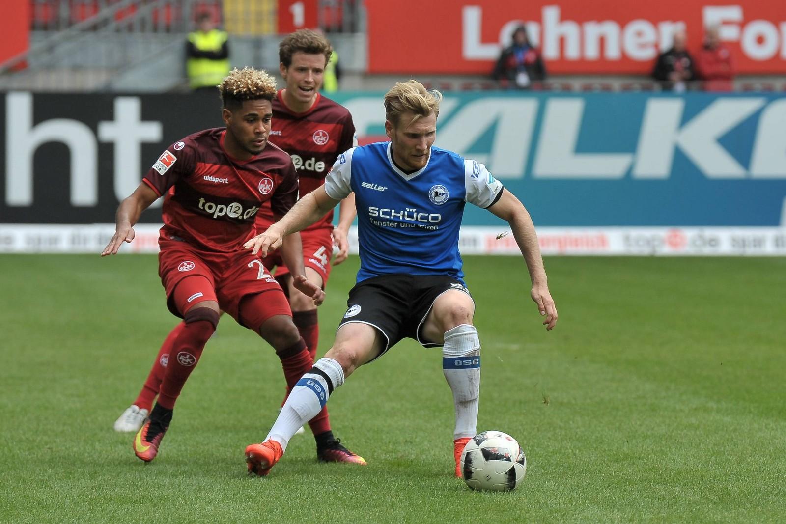 Setzt sich Voglsammer gegen Mwene durch? Jetzt auf Bielefeld vs FCK wetten