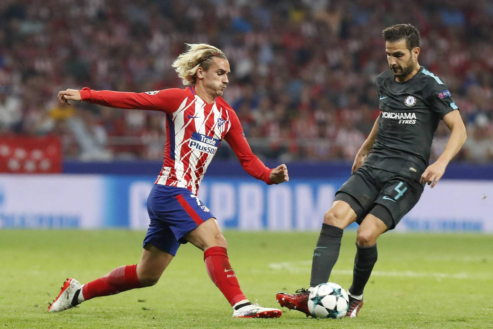 Setzt sich Griezmann gegen Fabregas durch? Unser Tipp: Chelsea gewinnt gegen Atletico