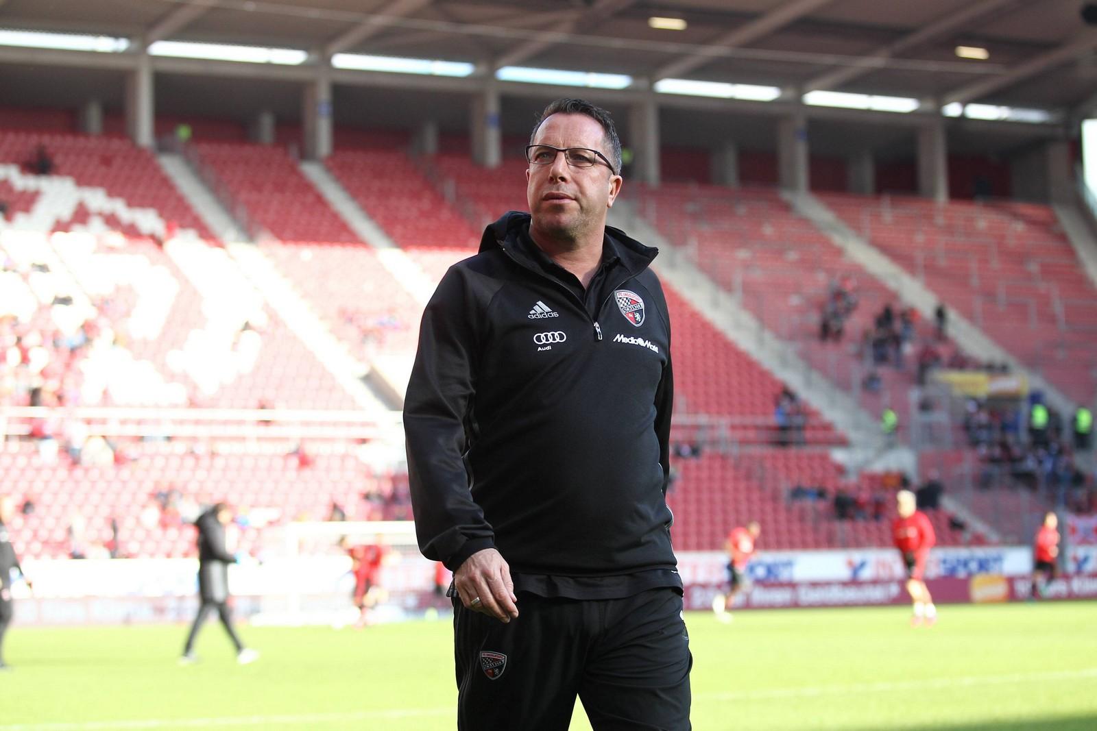 Markus Kauczinski, hier noch in Diensten des FC Ingolstadt