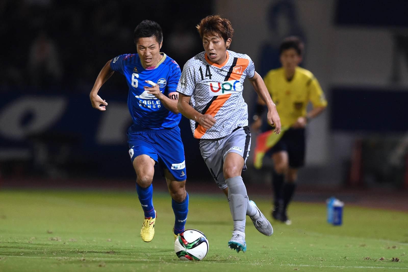 Kazuki Kozuka (rechts) im Duell mit Ri Han Jae