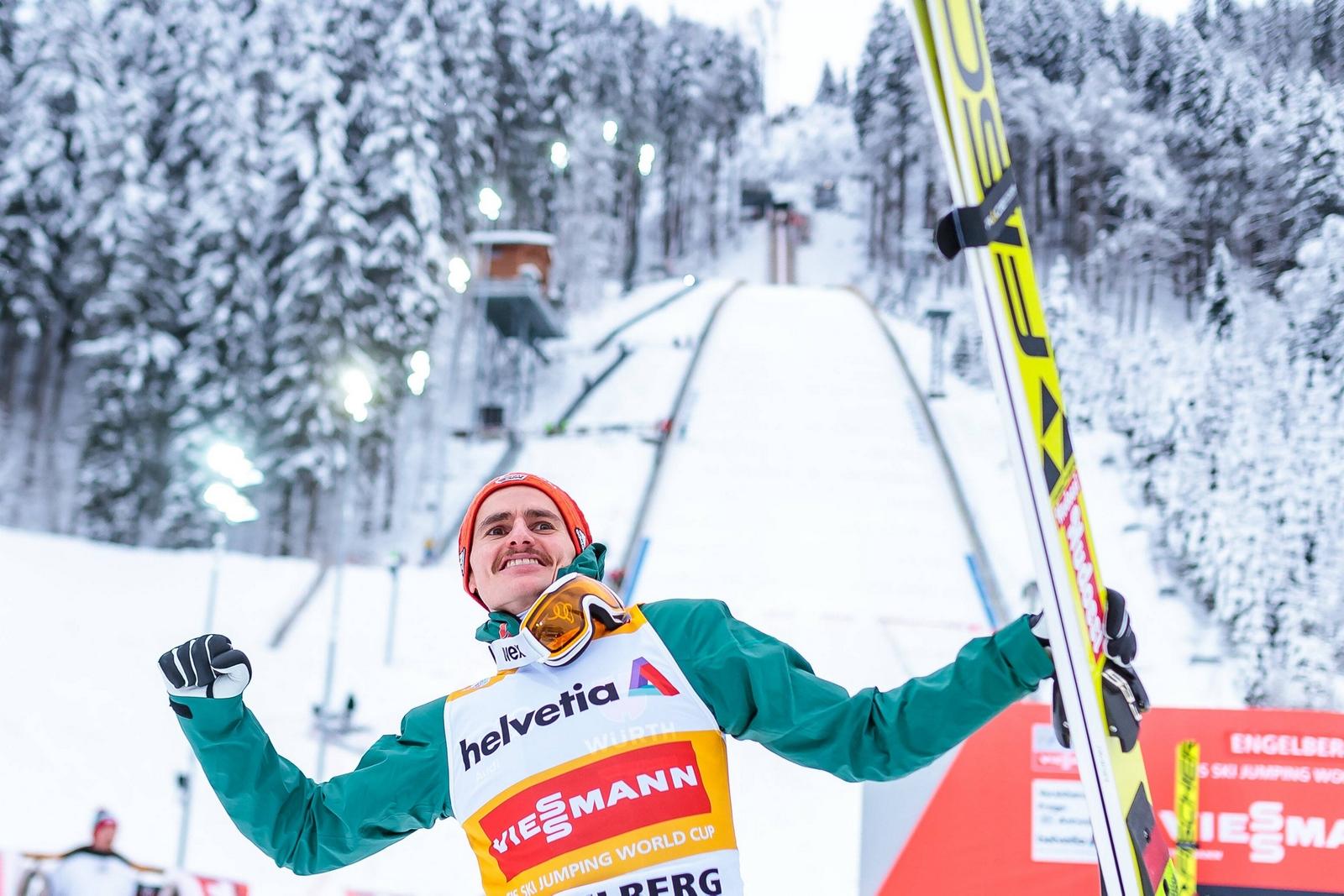 Skispringer Richard Freitag