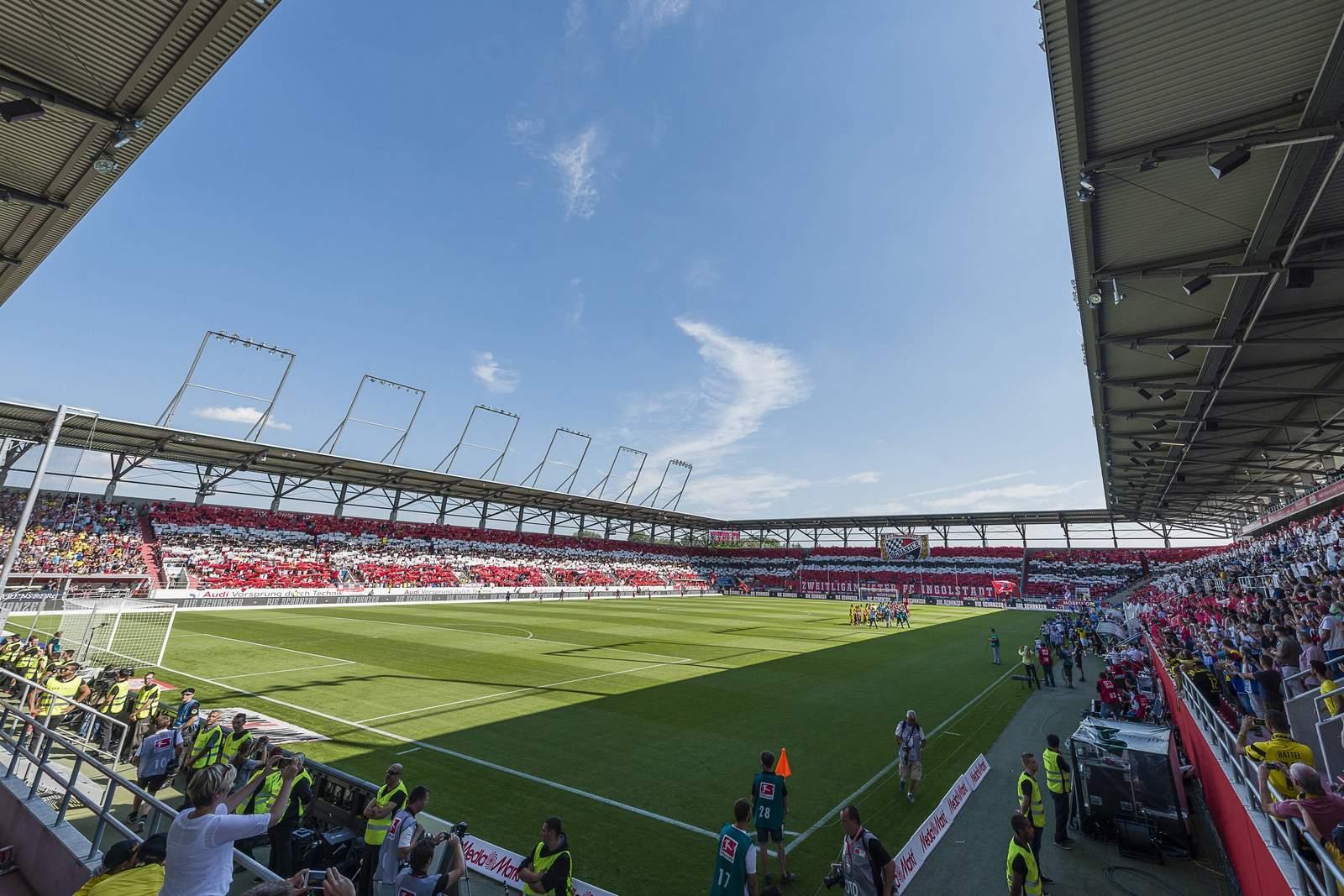 Heimspielstätte der Schanzer vom FC Ingolstadt: Der Audi-Sportpark