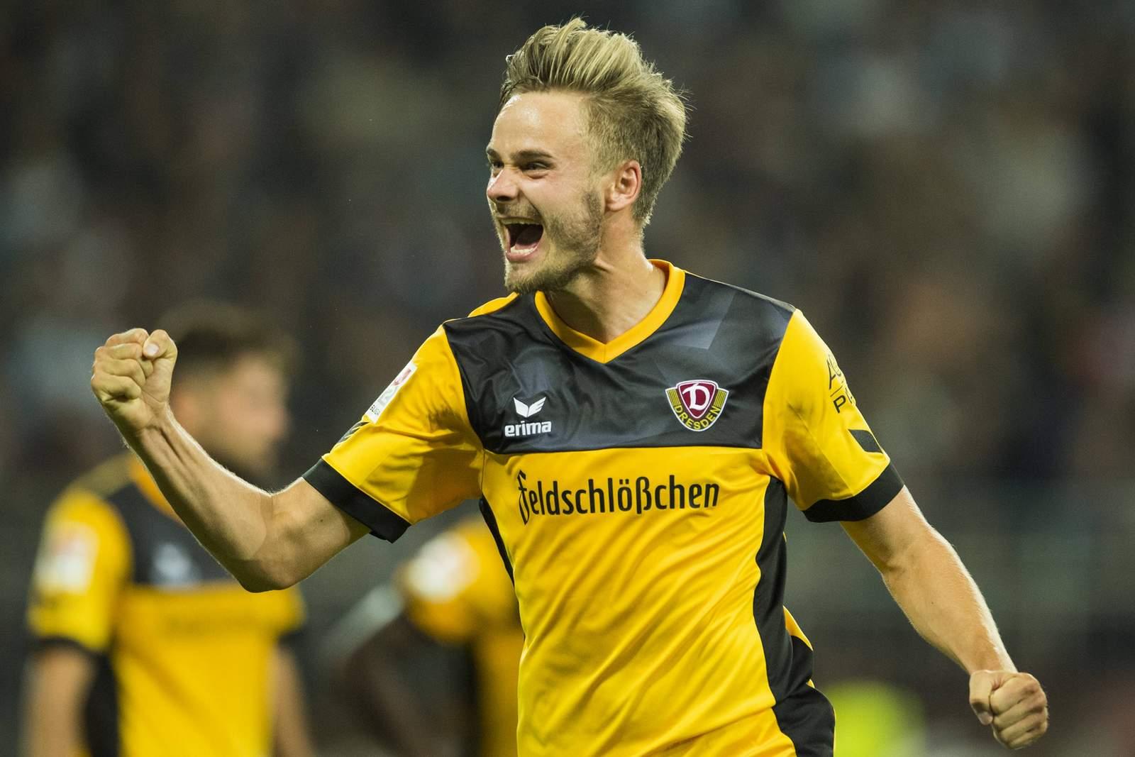 Lucas Röser von Dynamo Dresden