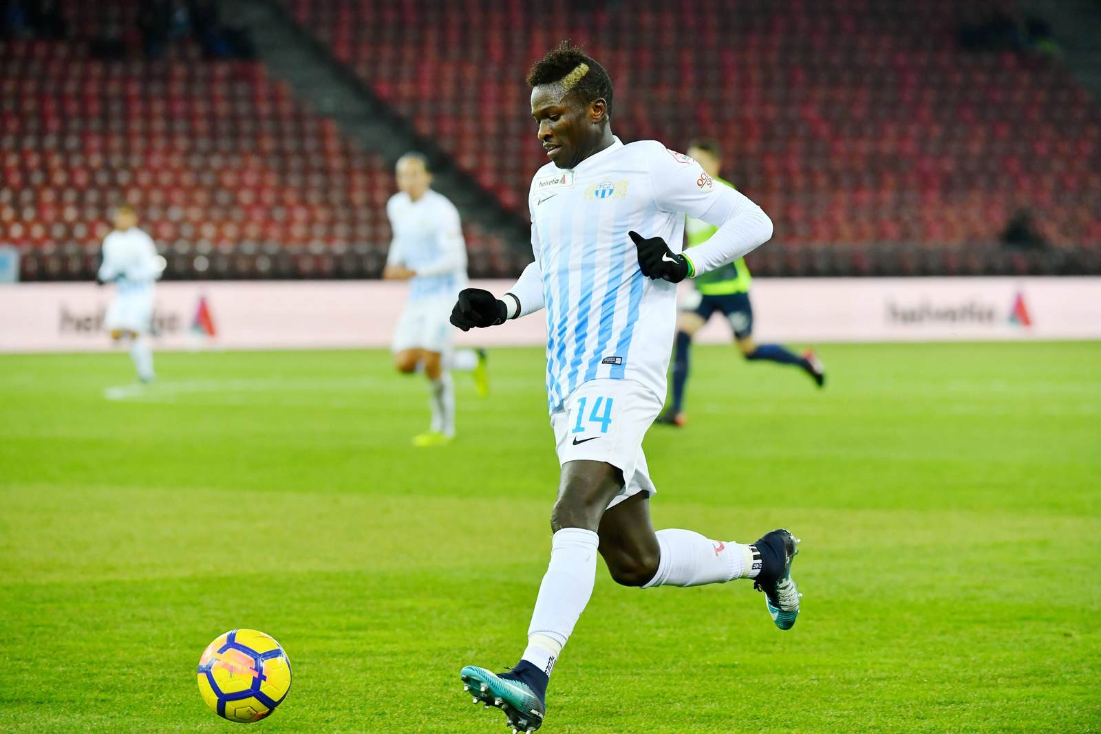 Moussa Koné vom FC Zürich am Ball.