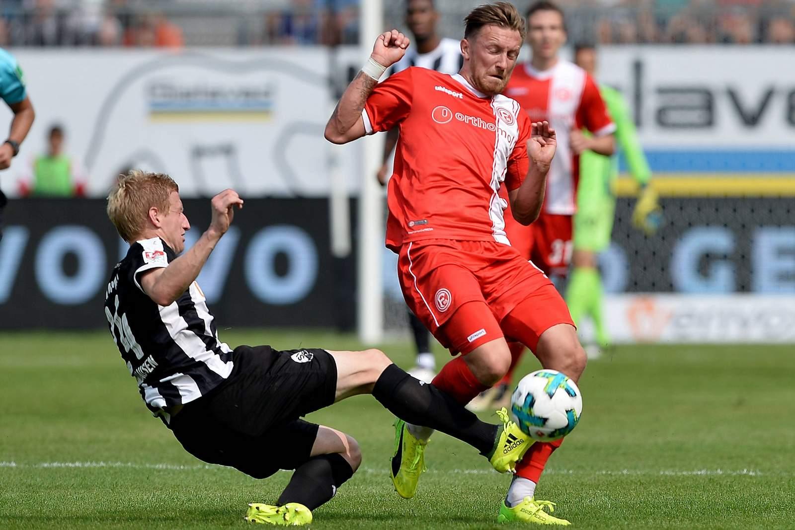 Setzt sich Klingmann gegen Bodzek durch? Jetzt auf Fortuna Düsseldorf gegen Sandhausen wetten