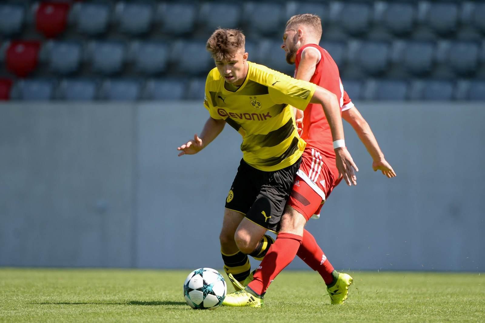 Sören Lippert im Trikot von Borussia Dortmund