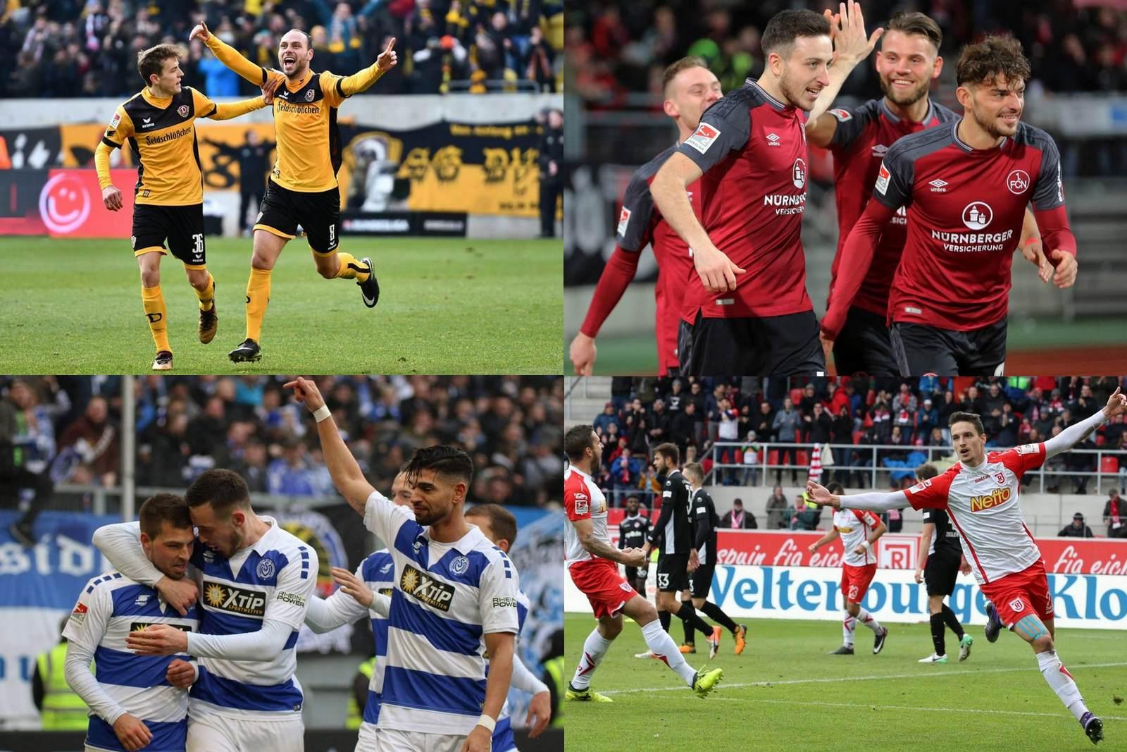 Collage Zweite Liga