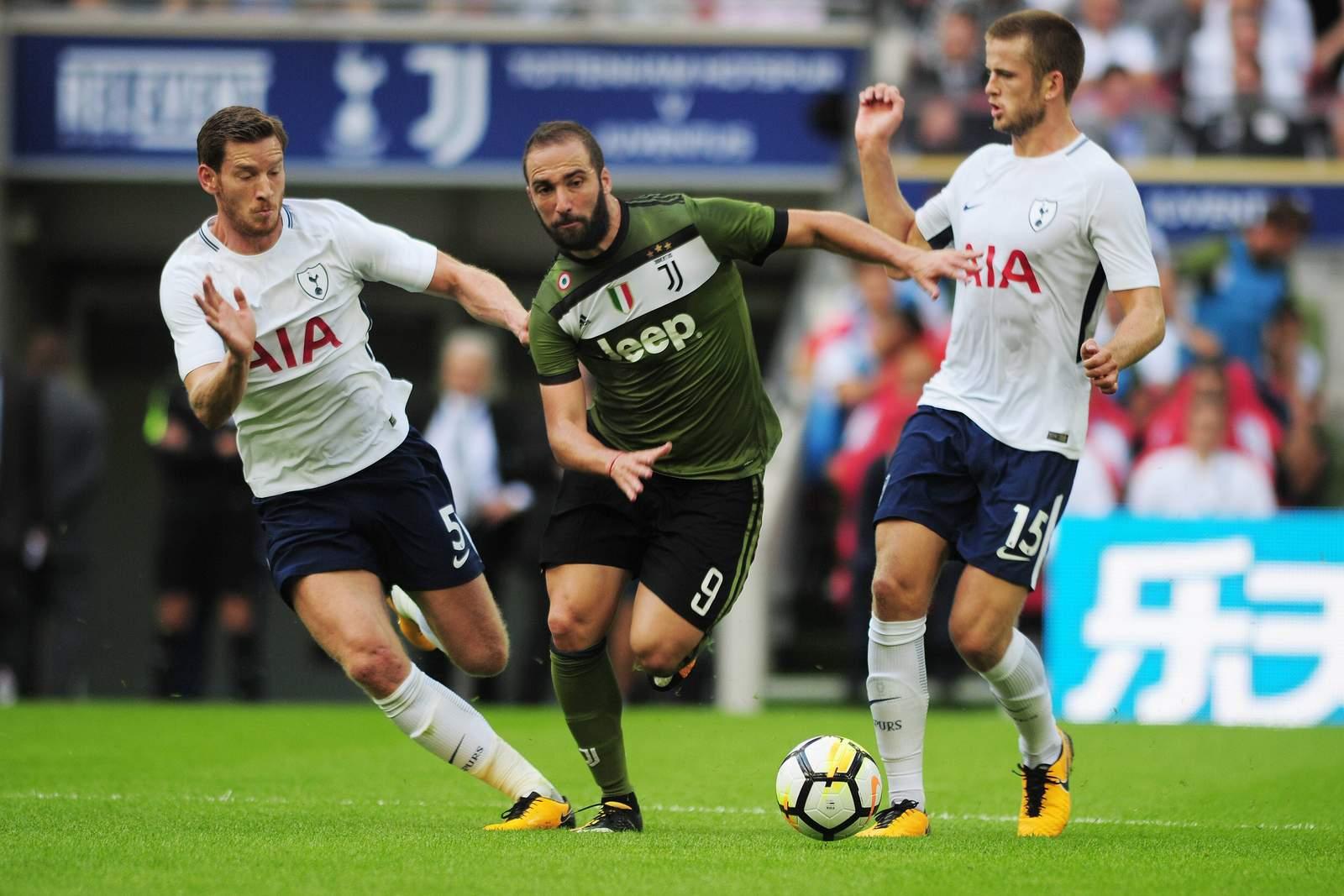 Setzt sich Higuain gegen Dier durch? Jetzt auf Juventus gegen Tottenham wetten