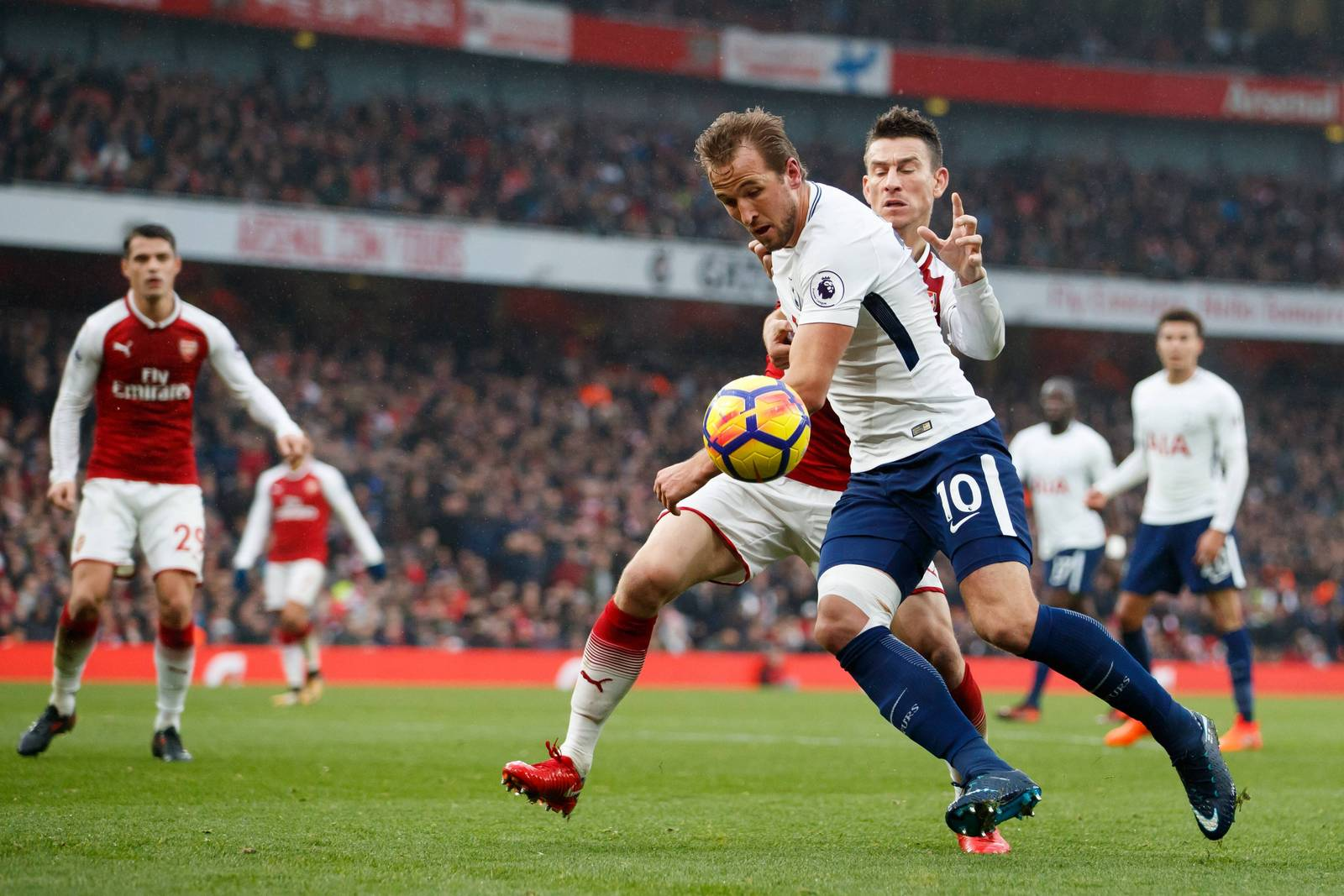 Tottenham ringt FC Arsenal in Nord-London-Derby nieder