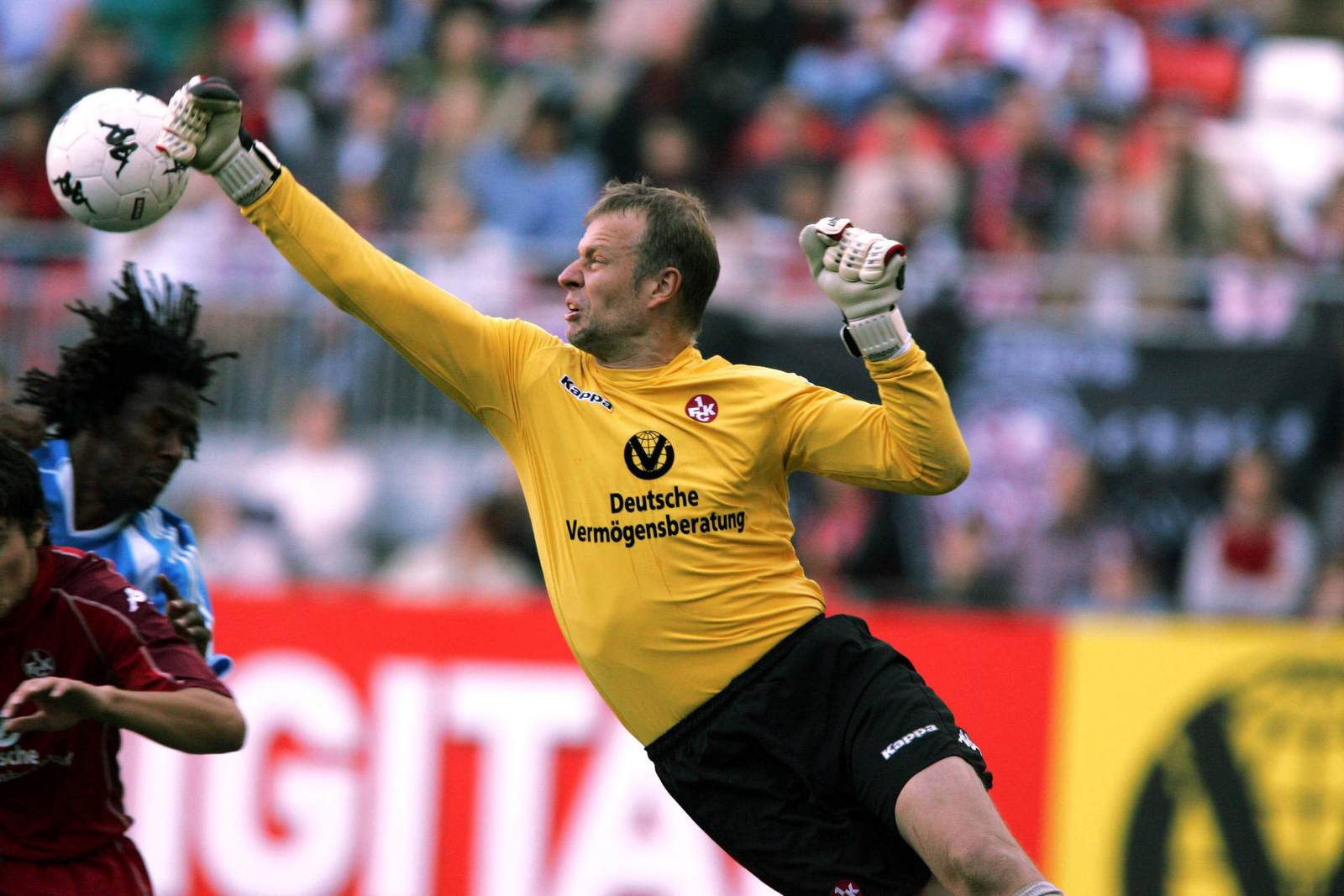 Thomas Ernst im Trikot des 1. FC Kaiserslautern