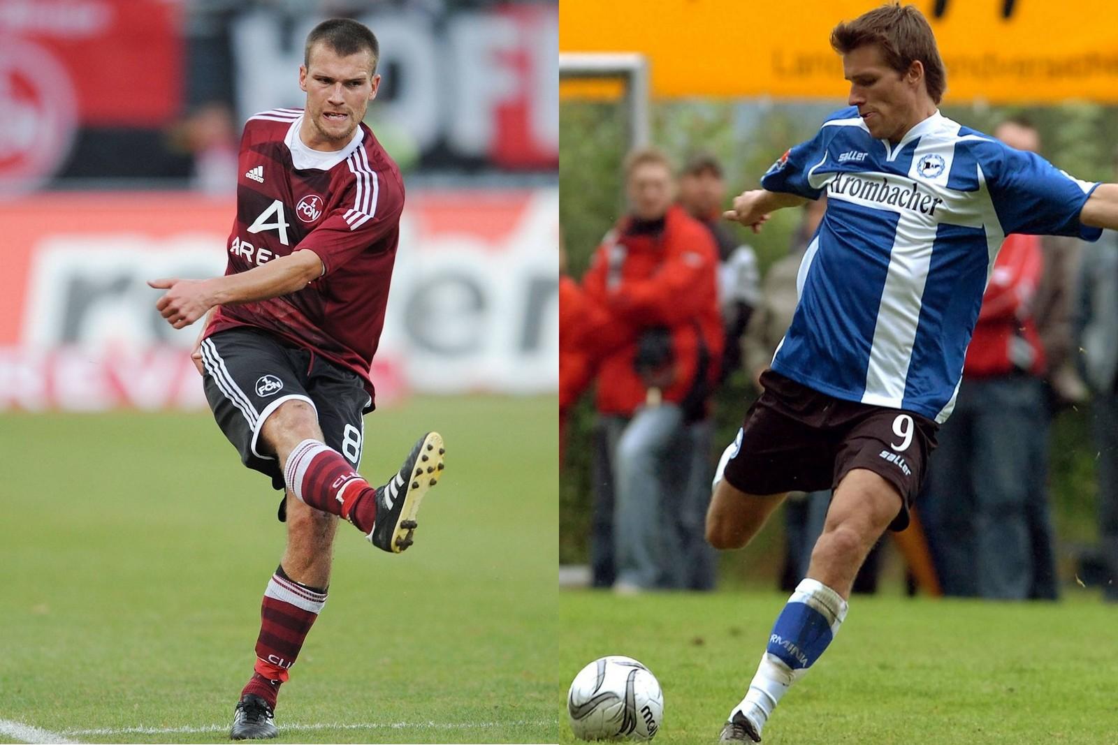 Christian Eigler im Trikot des 1. FC Nürnberg und Arminia Bielefeld