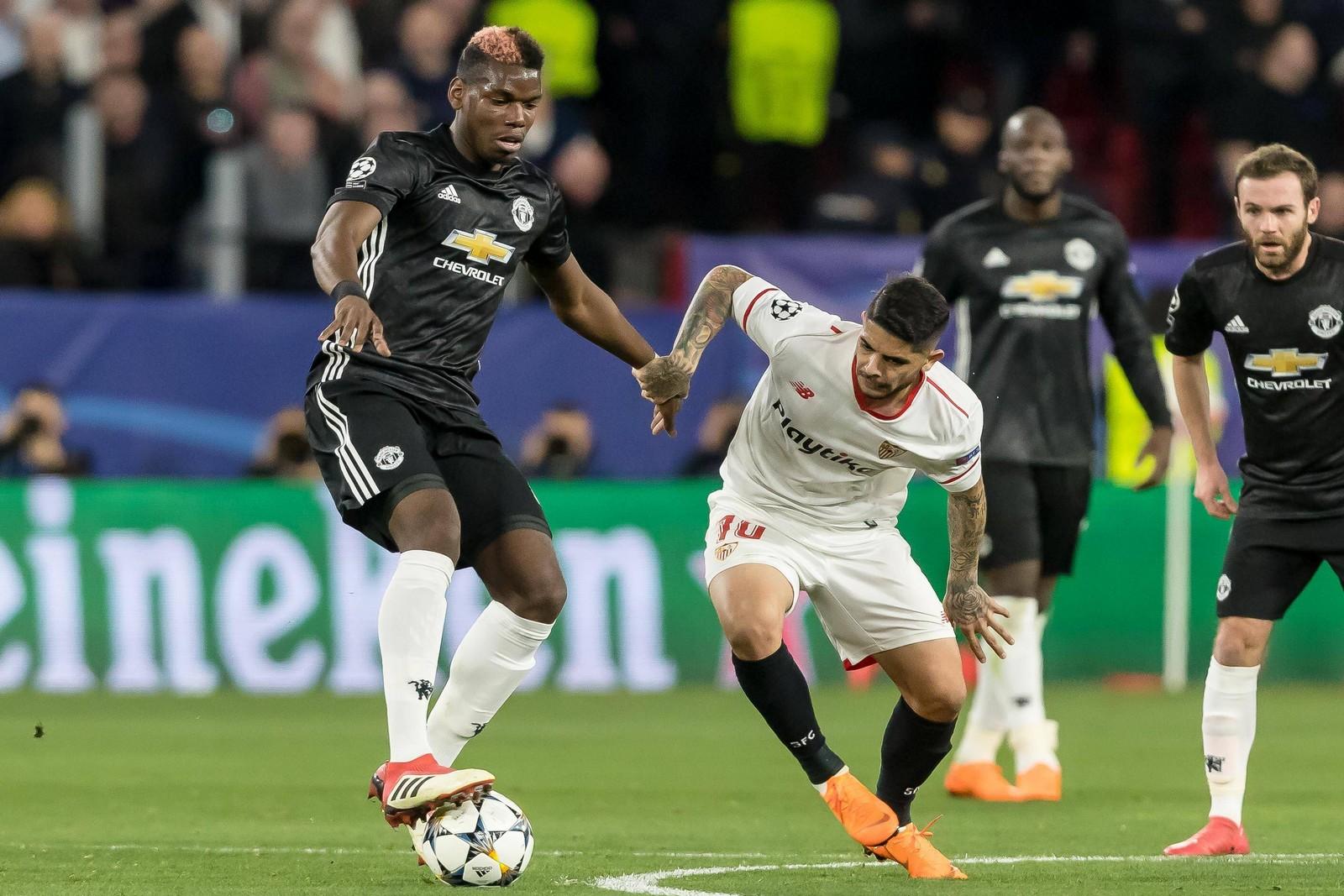 Setzt sich Pogba gegen Banega durch? Jetzt auf ManU gegen Sevilla wetten
