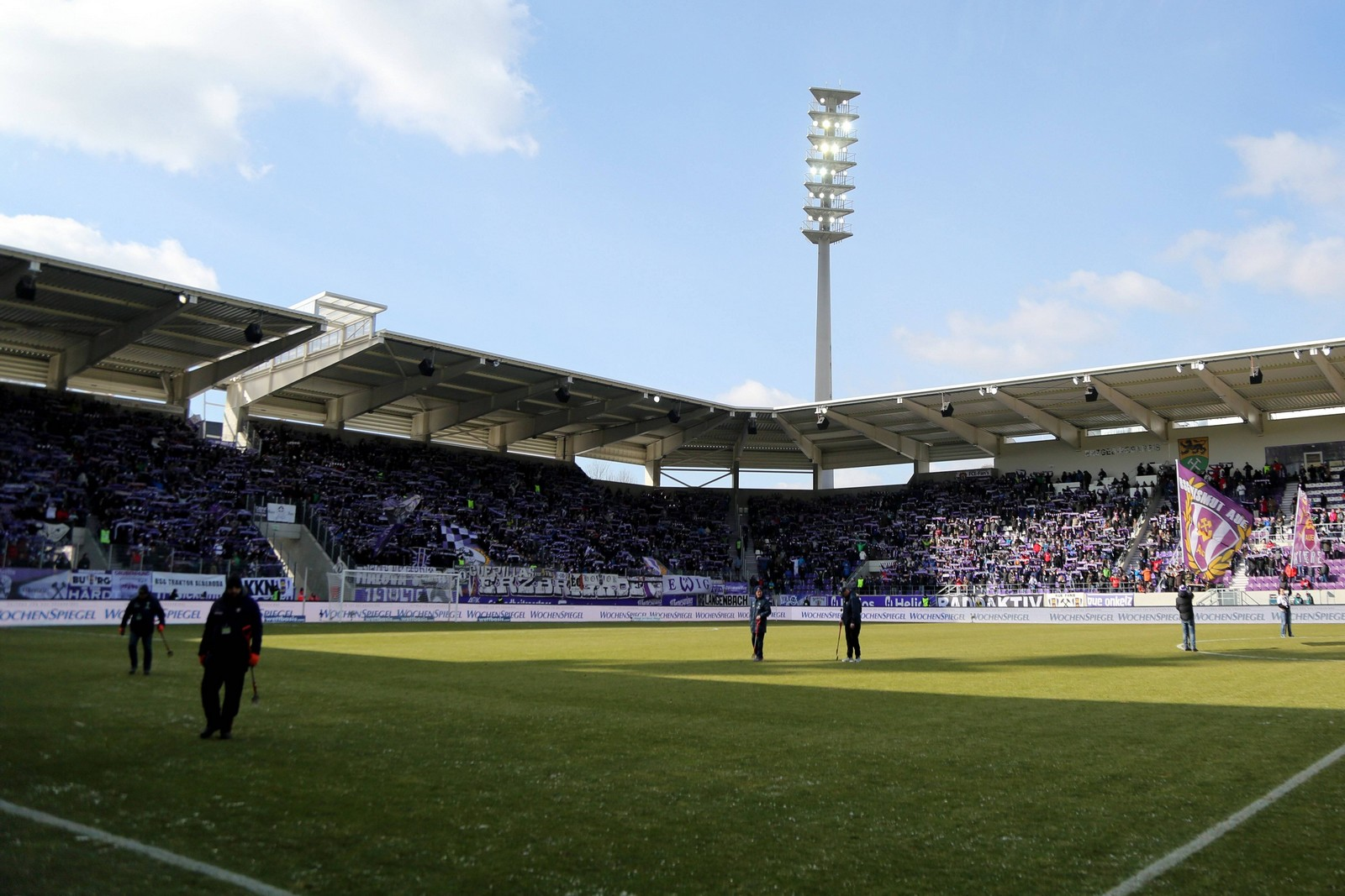 Das Ergebirgsstadion des FC Erzgebirge Aue