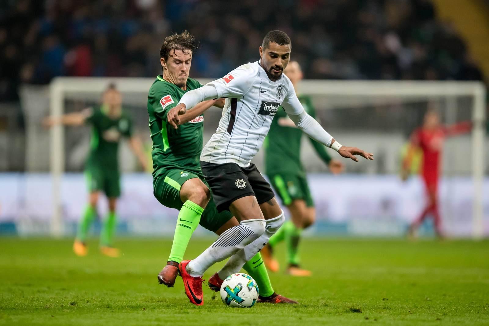 Max Kruse gegen Kevin Prince Boateng, Jetzt auf die Partie Werder gegen Frankfurt wetten