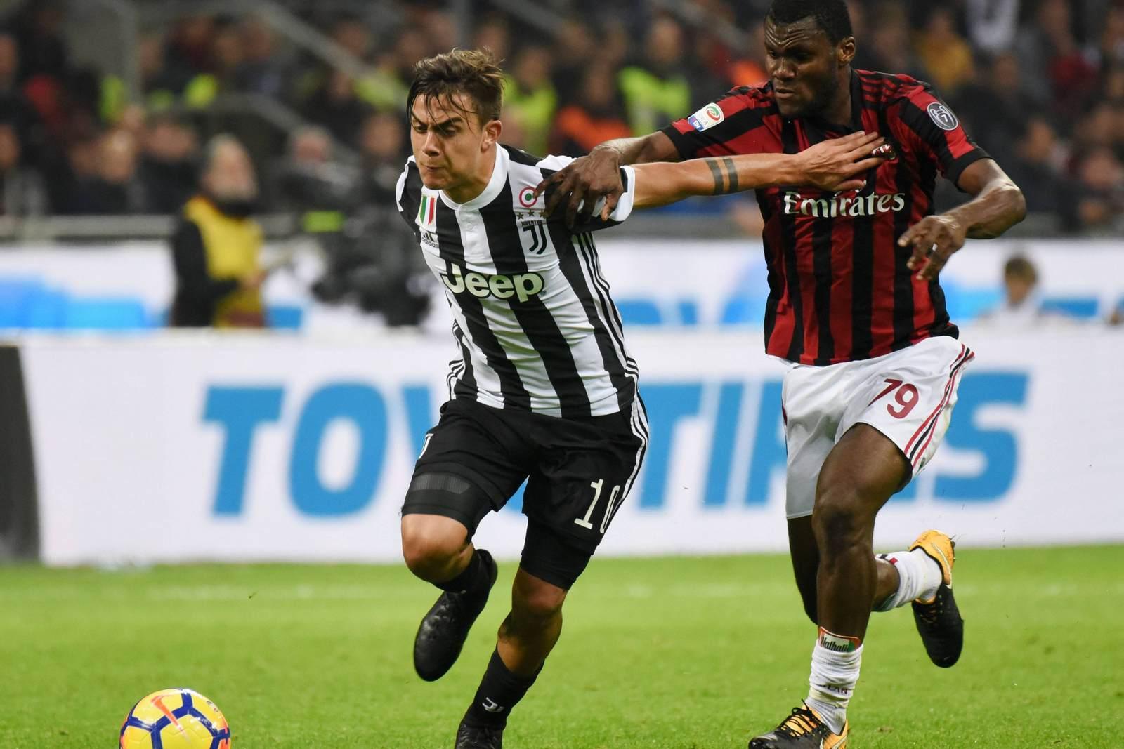 Können Franck Kessié und der AC Milan Juve ein Bein stellen? Jetzt auf Milan vs Juve wetten!