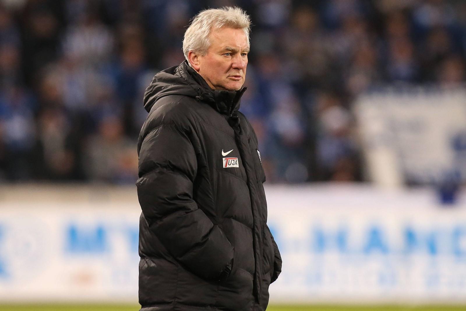 Trainer-Routinier Benno Möhlmann