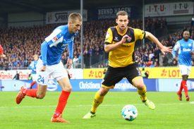 Heute: Dynamo Dresden vs Kiel