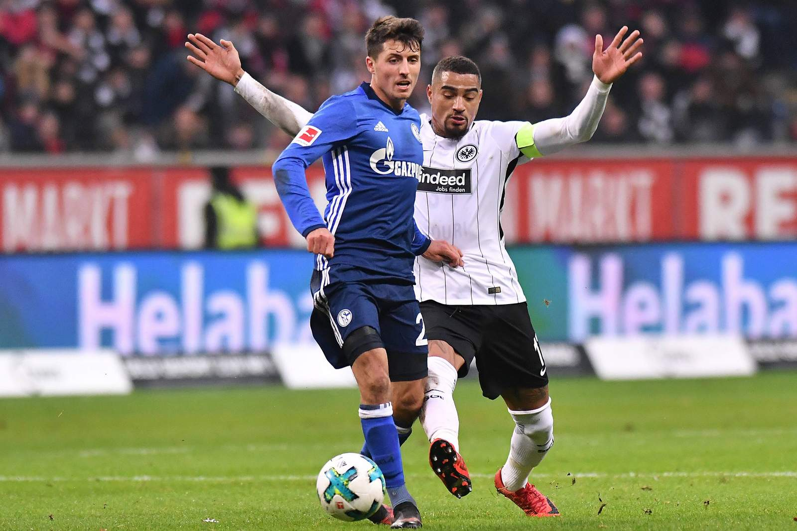 Setzt sich Schöpf gegen Boateng durch? Jetzt auf Schalke gegen Frankfurt wetten