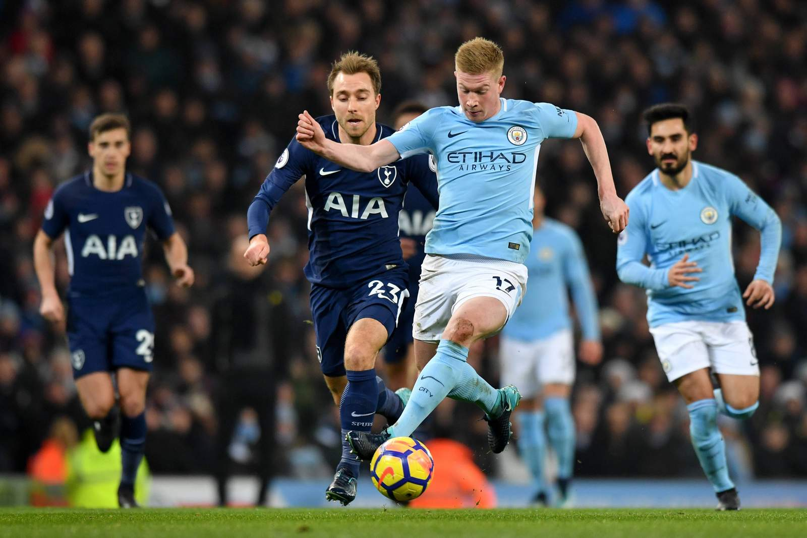 Tottenham vs Man City: Tipp, Quote & Prognose (2018)