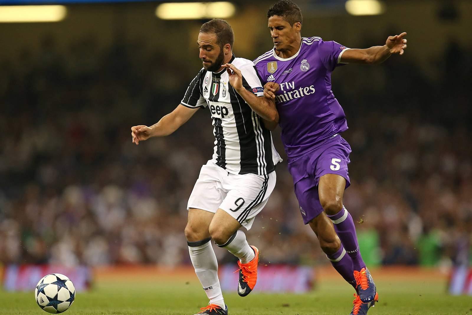 Setzt sich Higuain gegen Varane durch? Jetzt auf Juventus gegen Real wetten