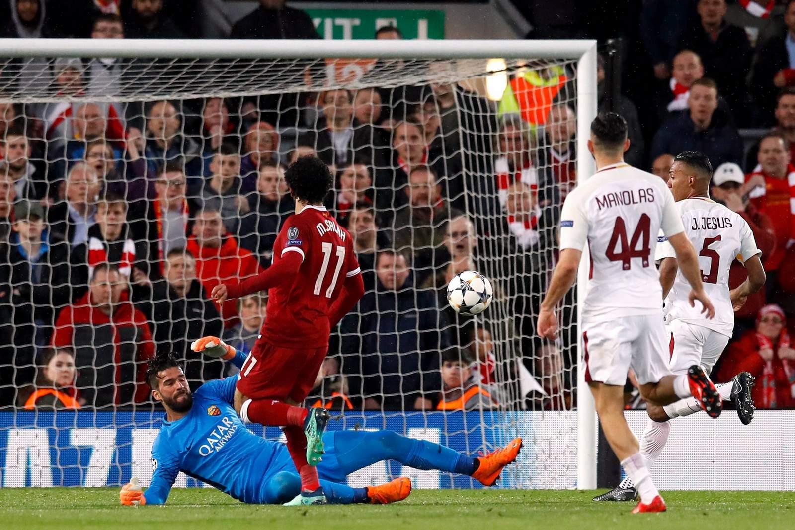 Erzielt Salah wieder ein Tor? Jetzt auf Roma vs Liverpool wetten