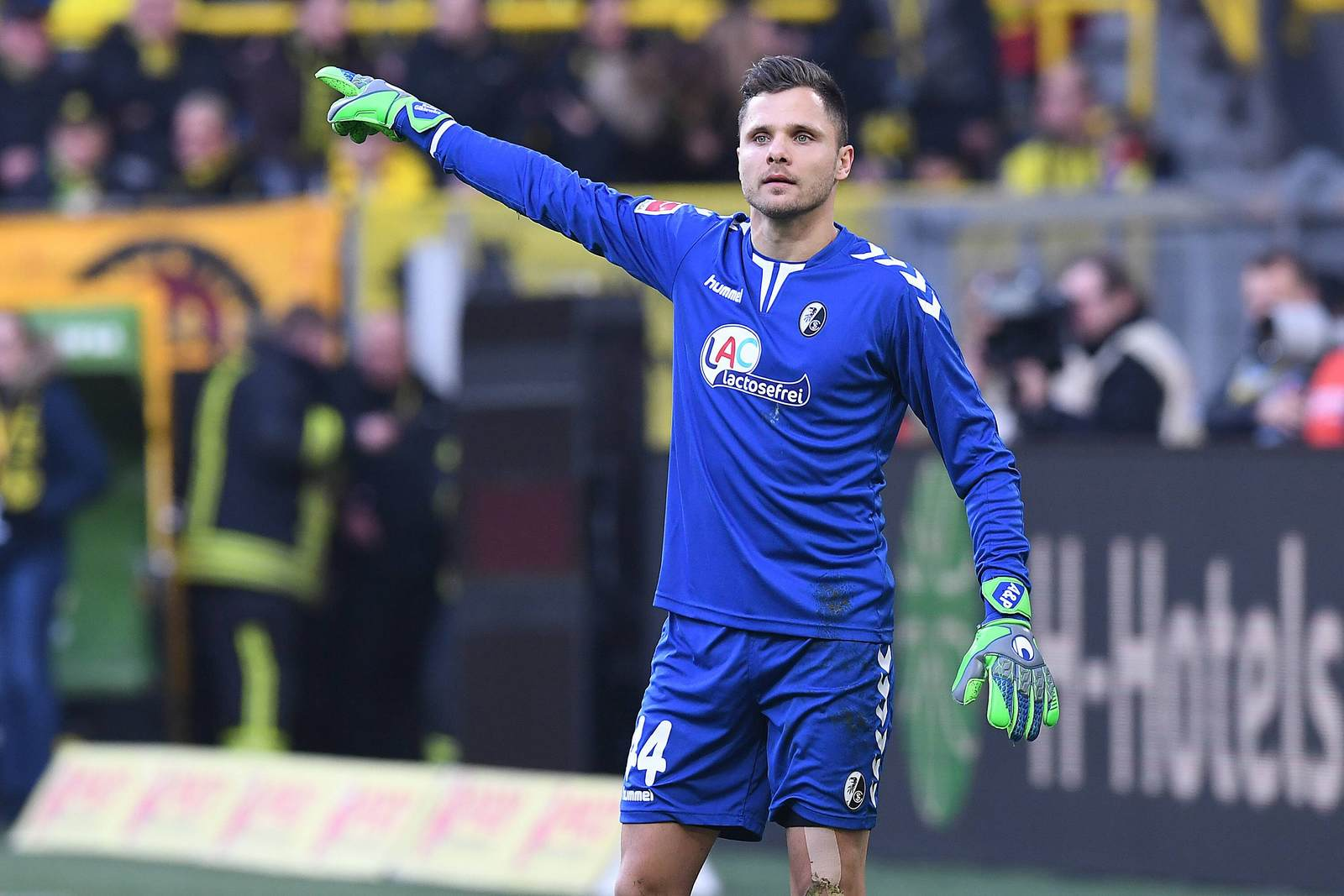 Rafal Gikiewicz beim SC Freiburg.