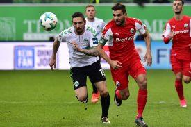 Heute: Sandhausen vs Greuther Fürth