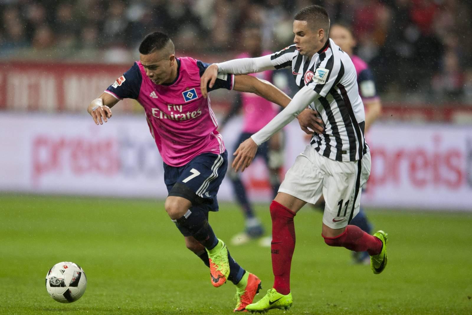 Setzt sich Bobby Wood gegen Mija Gacinovic durch? Jetzt auf Frankfurt gegen HSV wetten!