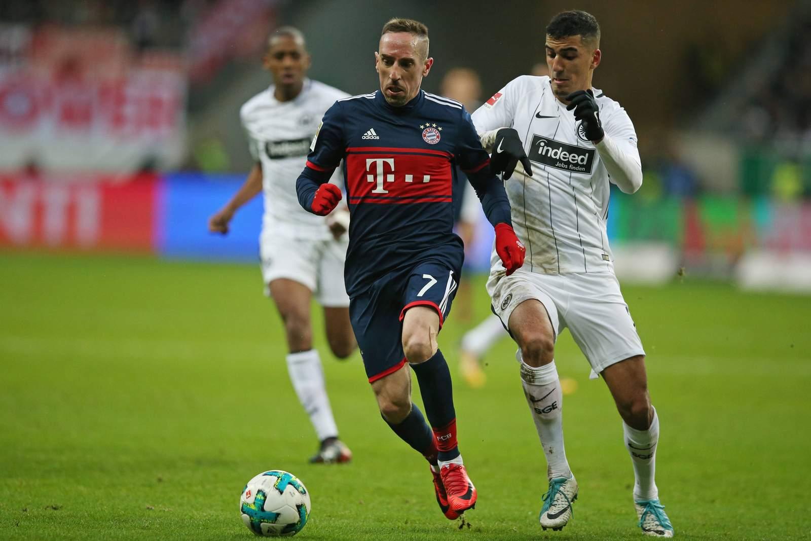 Setzt sich Ribery wieder durch? Jetzt auf Eintracht Frankfurt gegen Bayern wetten
