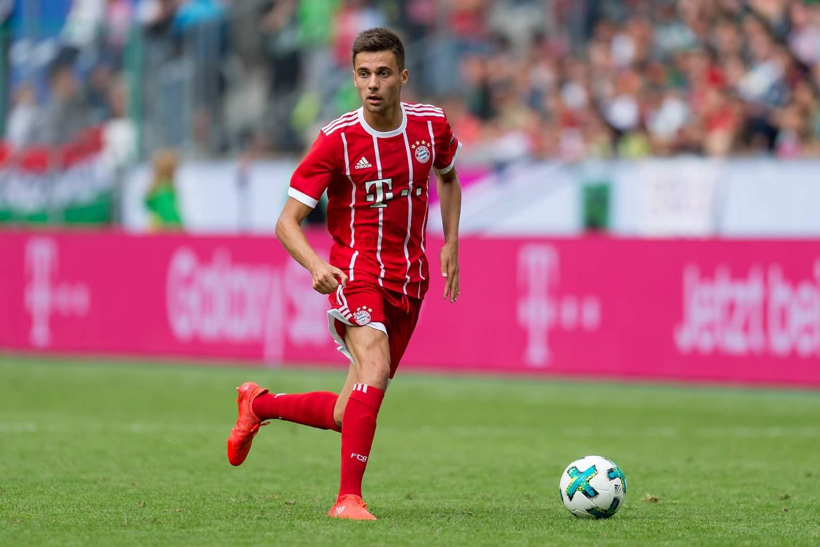 Milos Pantovic vom FC Bayern München