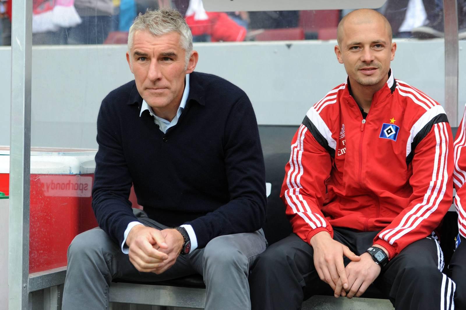 Mirko Slomka und Nestor El Maestro