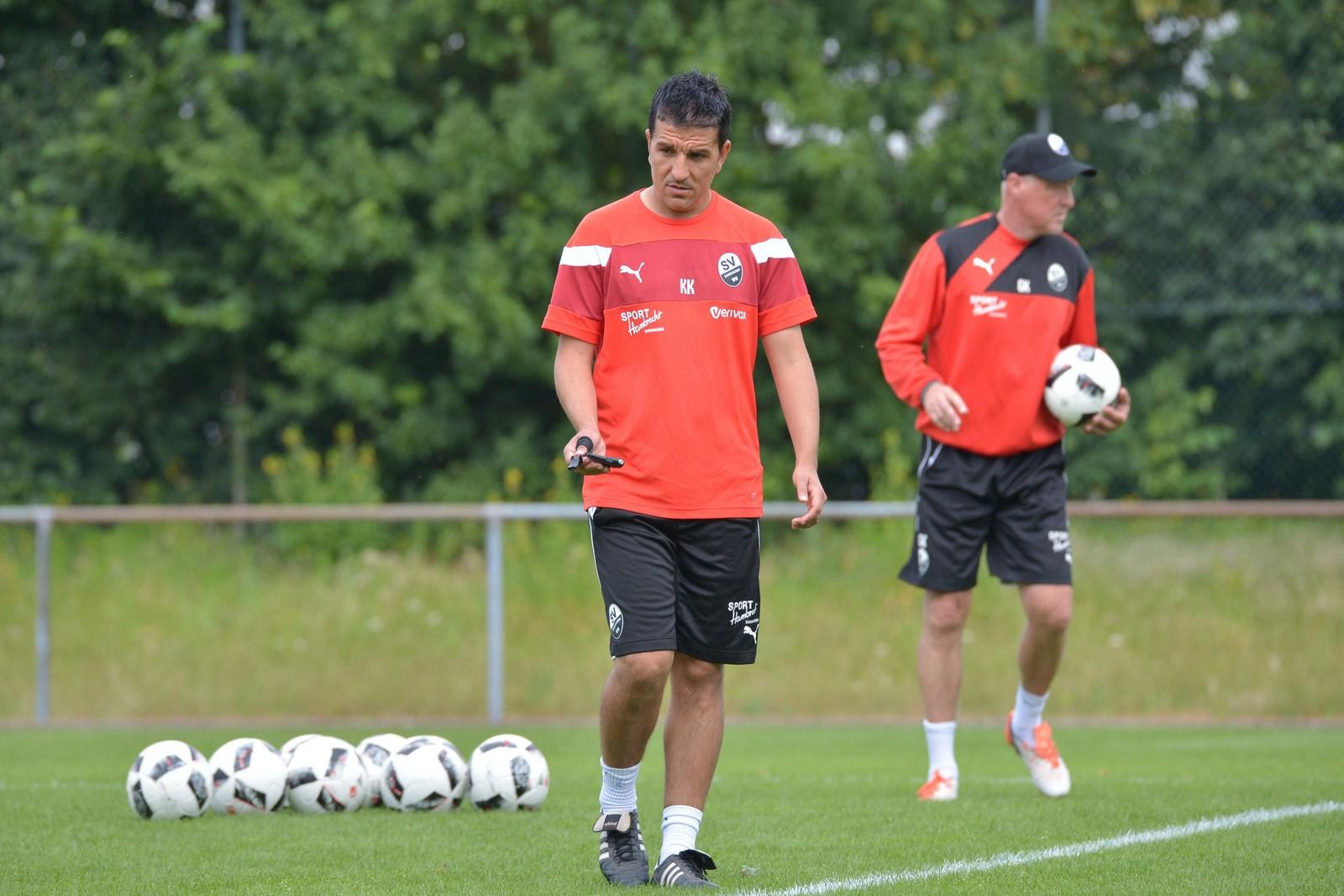 Kenan Kocak vom SV Sandhausen