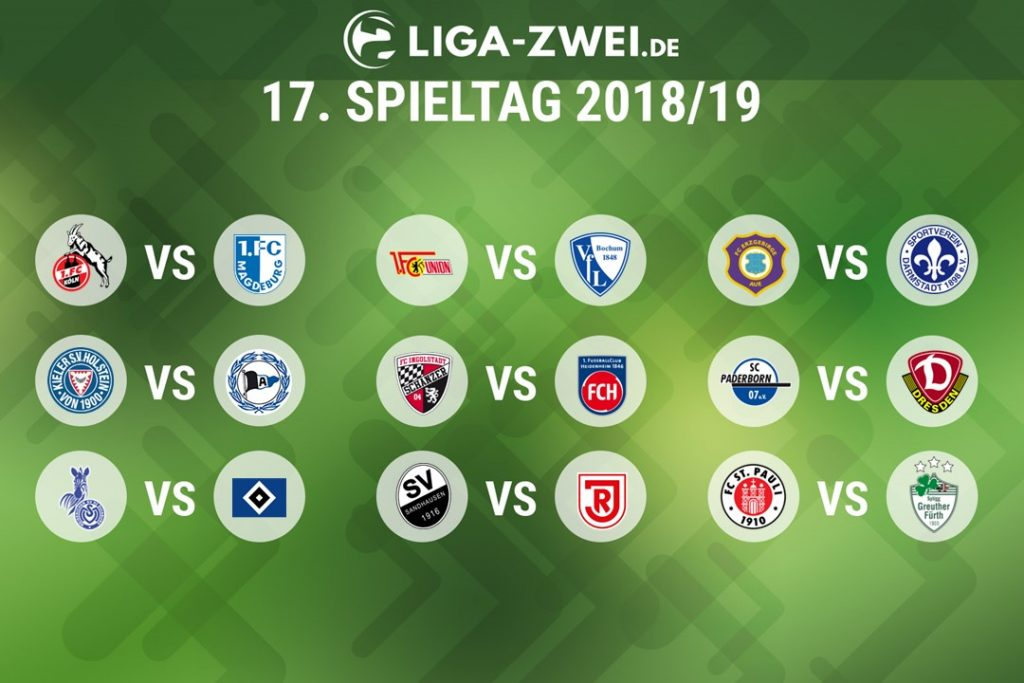 2 Bundesliga Spielplan 201819 Steht Fest