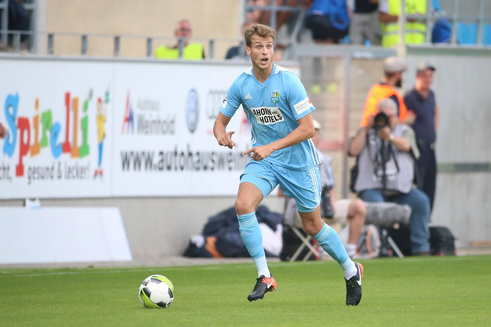 Laurin von Piechowski vom Chemnitzer FC