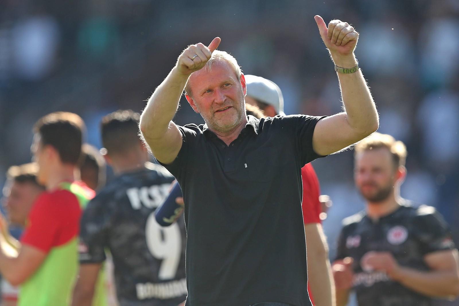 Uwe Stöver vom FC St. Pauli