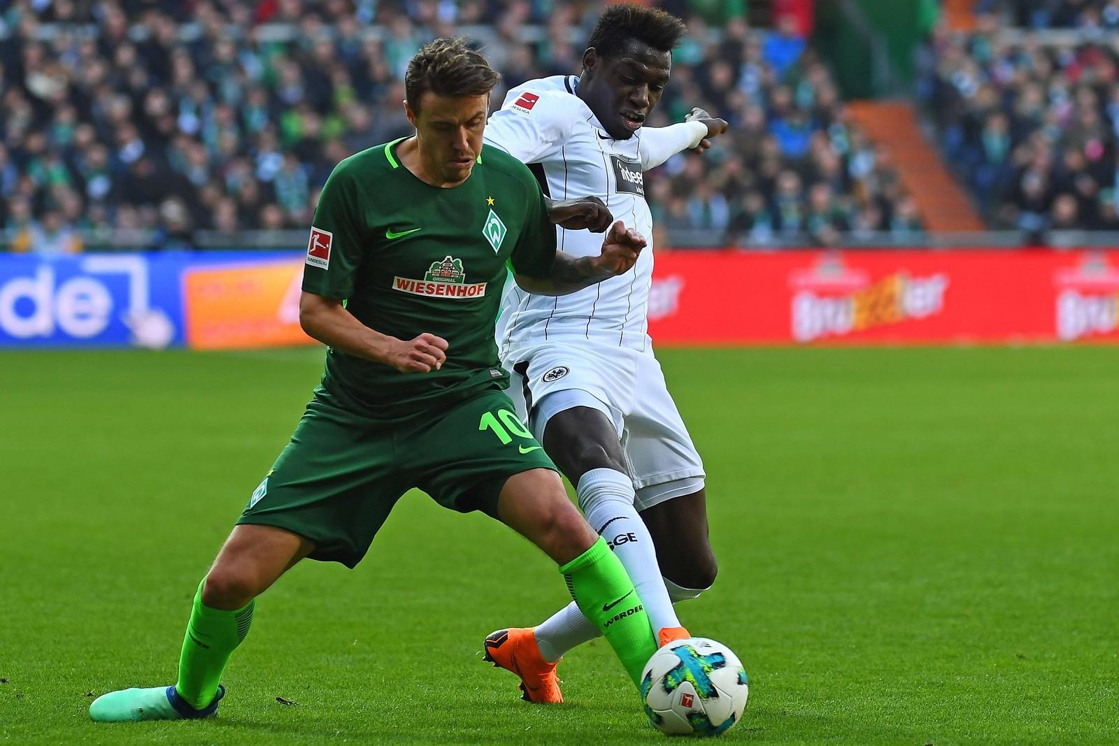 Setzt sich Kruse gegen Da Costa durch? Jetzt auf Werder gegen Frankfurt wetten