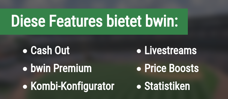 Features bei bwin