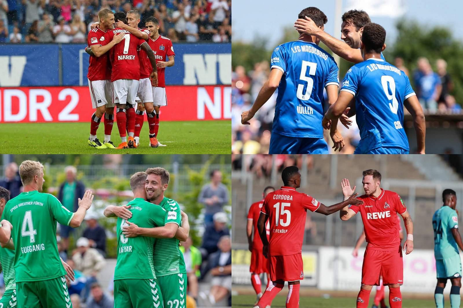Collage der 2. Bundesliga