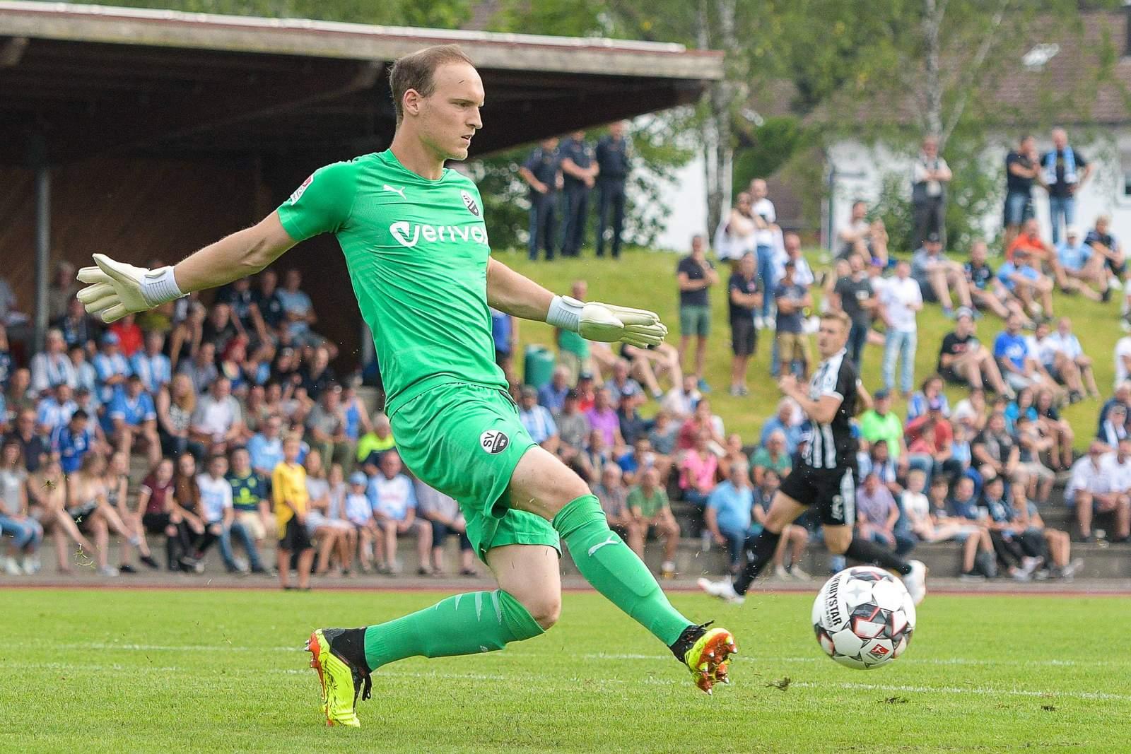 Niklas Lomb im Einsatz für den SV Sandhausen