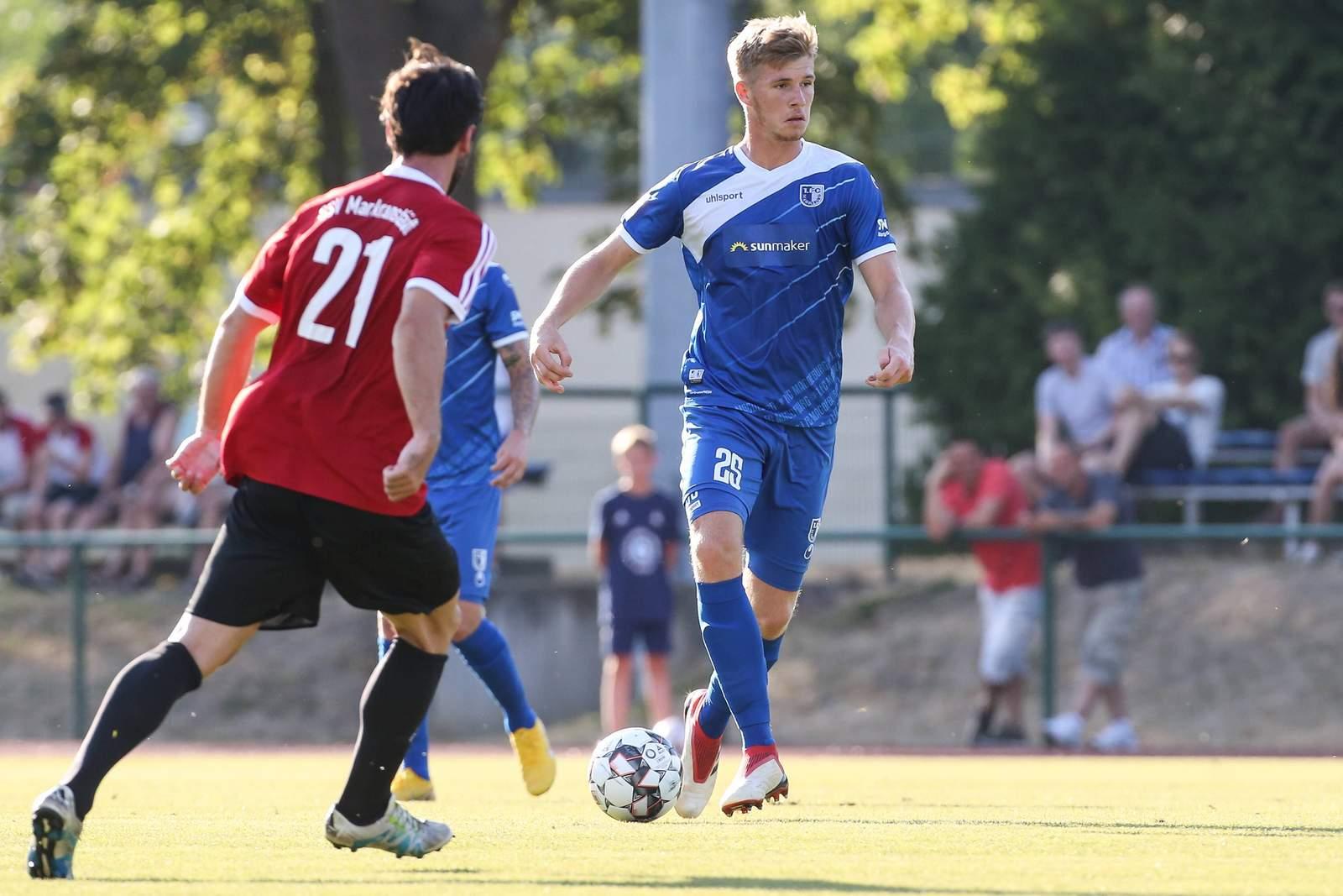 Philipp Harant im Trikot des 1. FC Magdeburg