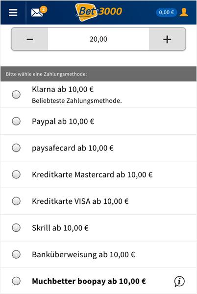 Bet3000 App Installieren